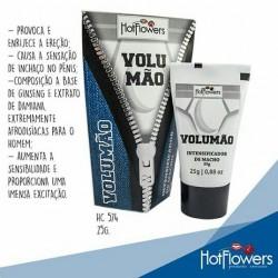 VOLUMÃO INTENSIFICADOR DE MACHO 25G HOT FLOWERS
