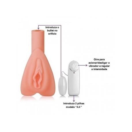 Masturbador vagina em Cyberskin