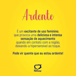 ARDENTE EXCITANTE FEMININO 15G SEXY FANTASY