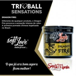 SOFT BALL TRIBALL DRAGON FIRE 8G 03 UNIDADES SOFT LOVE