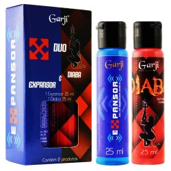 DUO EXPANSOR E DIABA GEL PARA MASSAGEM 25ML