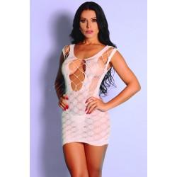 Mini Vestido Rendado Y3417 - Yaffa