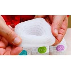 K-Toy - Masturbador Egg - Textura de Linhas