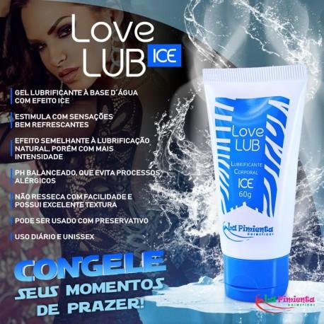 LOVE LUB LUBRIFICANTE ICE 60G LA PIMIENTA