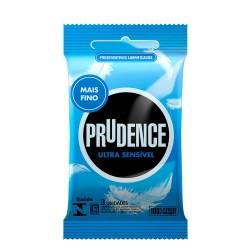 Preservativo Ultra Sensível Com 3 Unidades Prudence