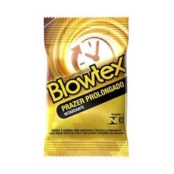 Preservativo Prazer Prolongado Efeito Retardante Blowtex
